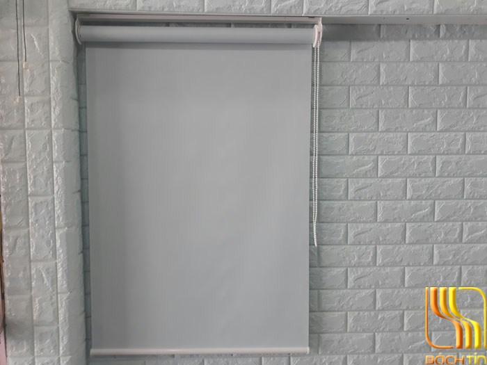 màn cửa số cuốn giá rẻ màu xanh nhạt tại đà nẵng