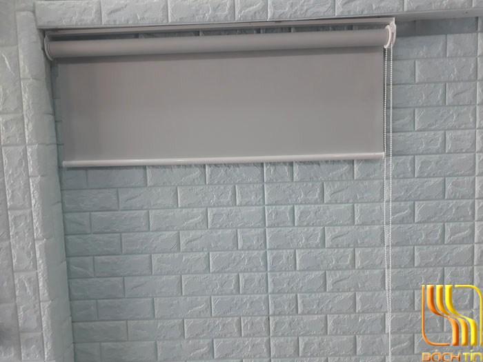 màn sáo cuốn giá rẻ cách nhiệt màu ghi trơn tại đà nẵng