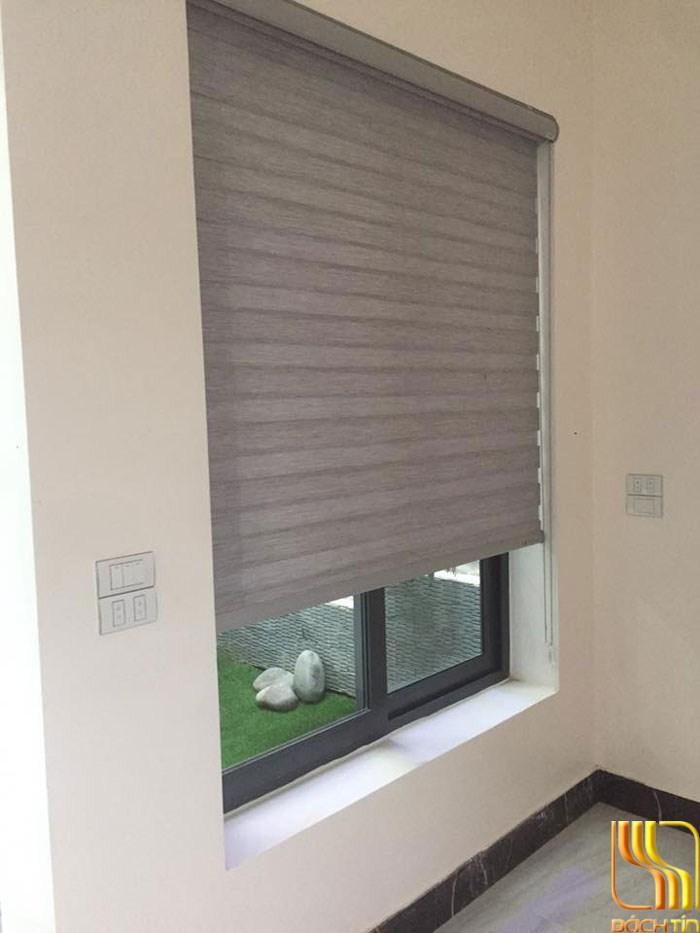 Rèm cuốn hai lớp chống nắng cho cửa sổ ở Đà Nẵng