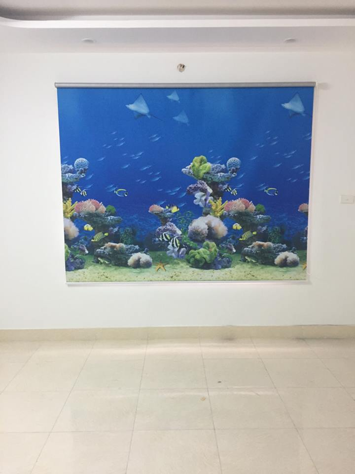 Rèm cuốn đại dương xanh biếc tại Đà Nẵng