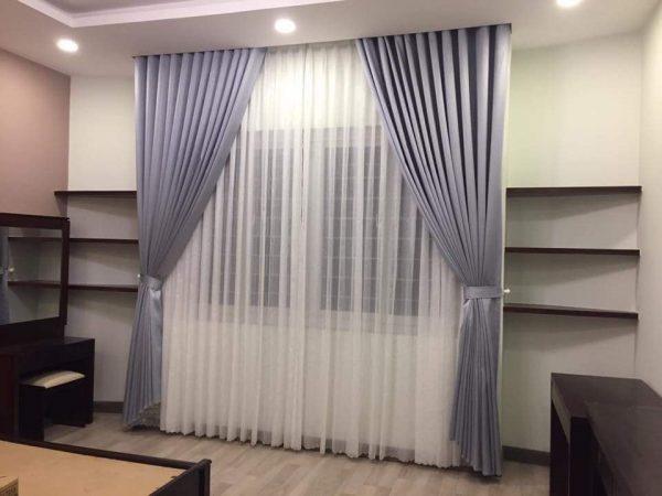 rèm vải 2 lớp đẹp ở Đà Nẵng