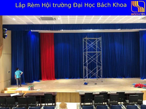 Lắp rèm hội trường tại Đại Học Bách Khoa Đà Nẵng
