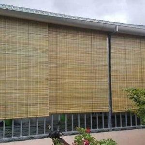 mành rèm tre màu vàng tại Đà Nẵng