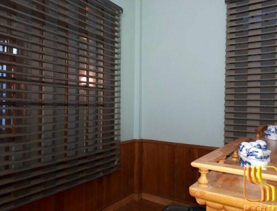 Màn cuốn cầu vồng 3 lớp màu xám ghi cao cấp ở Đà Nẵng