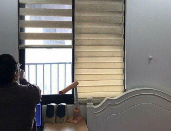 Màn sáo cầu vồng hai lớp cho cửa sổ ở Đà Nẵng
