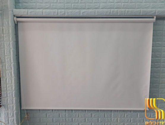 màn sáo cuốn chống nắng giá rẻ màu trắng tại đà nẵng