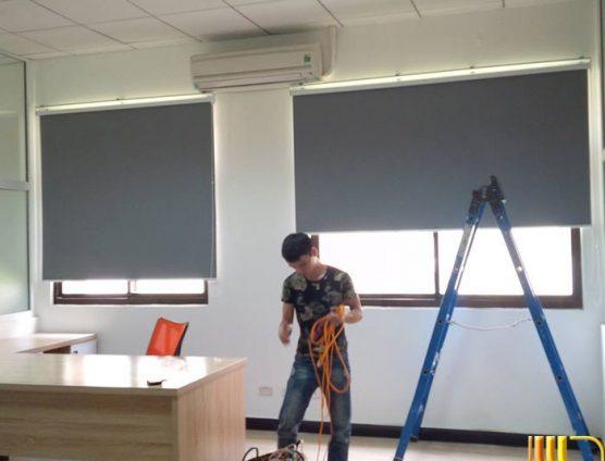 màn sáo cuốn chống nắng màu ghi giá rẻ ở Đà Nẵng