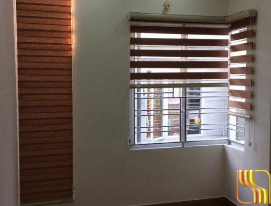 rèm cầu vồng chống nắng 2 lớp cho phòng ngủ ở Đà Nẵng