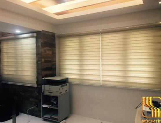 Rèm vải cuốn cao cấp cho phòng làm việc ở Đà Nẵng