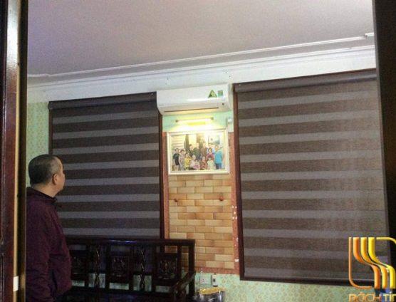 Rèm cuốn cao cấp chống nắng cho phòng khách ở Đà Nẵng