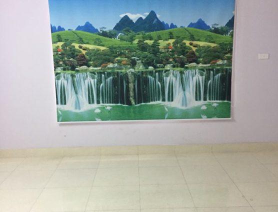 rèm cuốn tranh suối nước mát mẻ ở Đà Nẵng